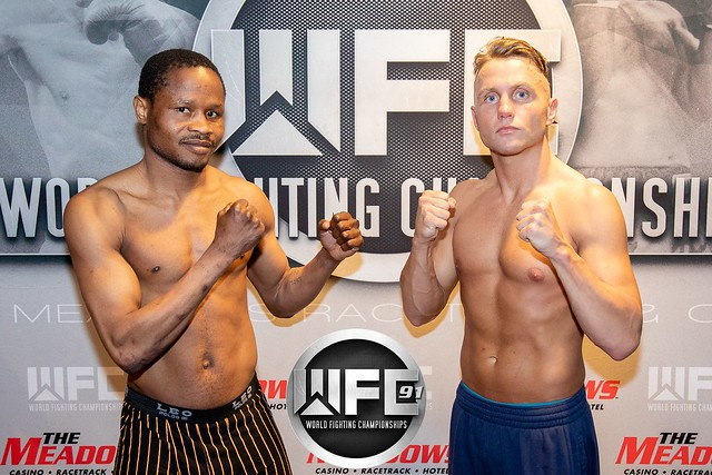 WFC 91 Weigh-Ins 8/3/18