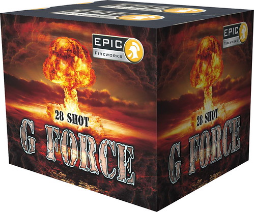 G FORCE 28 SHOT CAKE BY EPIC FIREWORKS