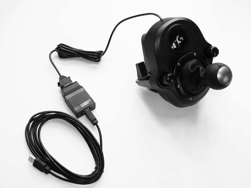 Leo Bodnar Logitech Shifter USB Interface