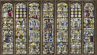 Tattershall, East window, overview