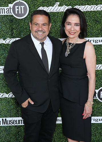 Narciso Rodriguez and Dr. Joyce F. Brown