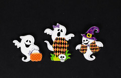 Funny Halloween ghosts