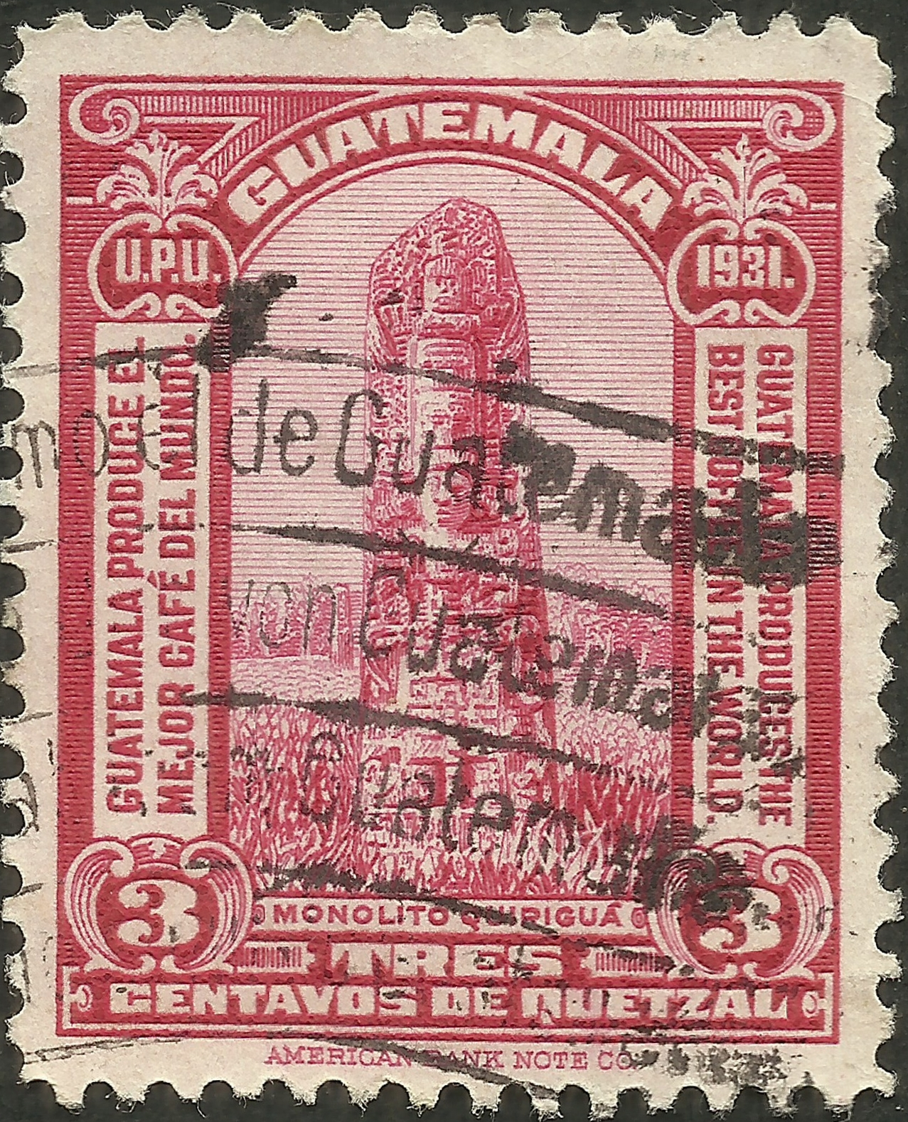 Guatemala - Scott #258 (1932)