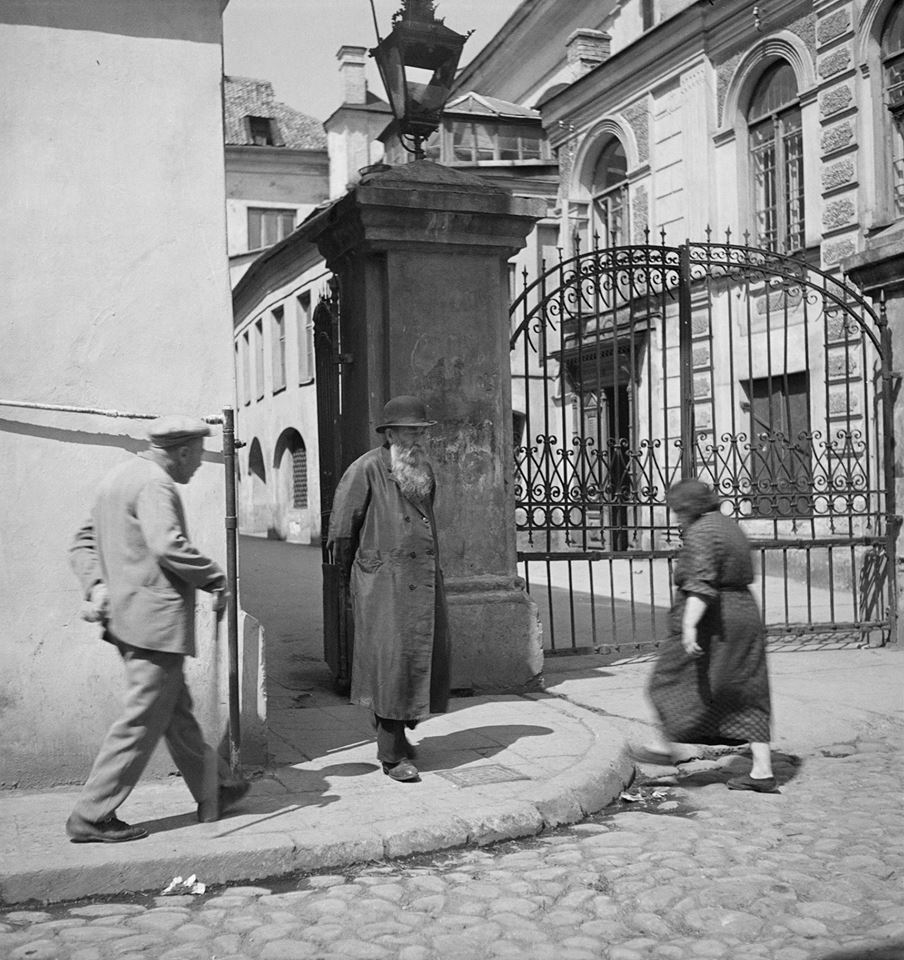 1938. Ворота Большой синагоги