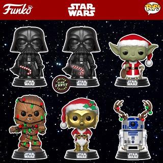 我家的煙囪永遠歡迎可愛的尤達老公公~~ Funko Pop! Star Wars【聖誕佳節!】Holiday!