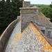Château de Pirou : le toit du neuf logis