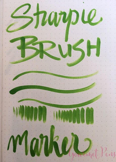 Sharpie Brush Pen @JetPens  2