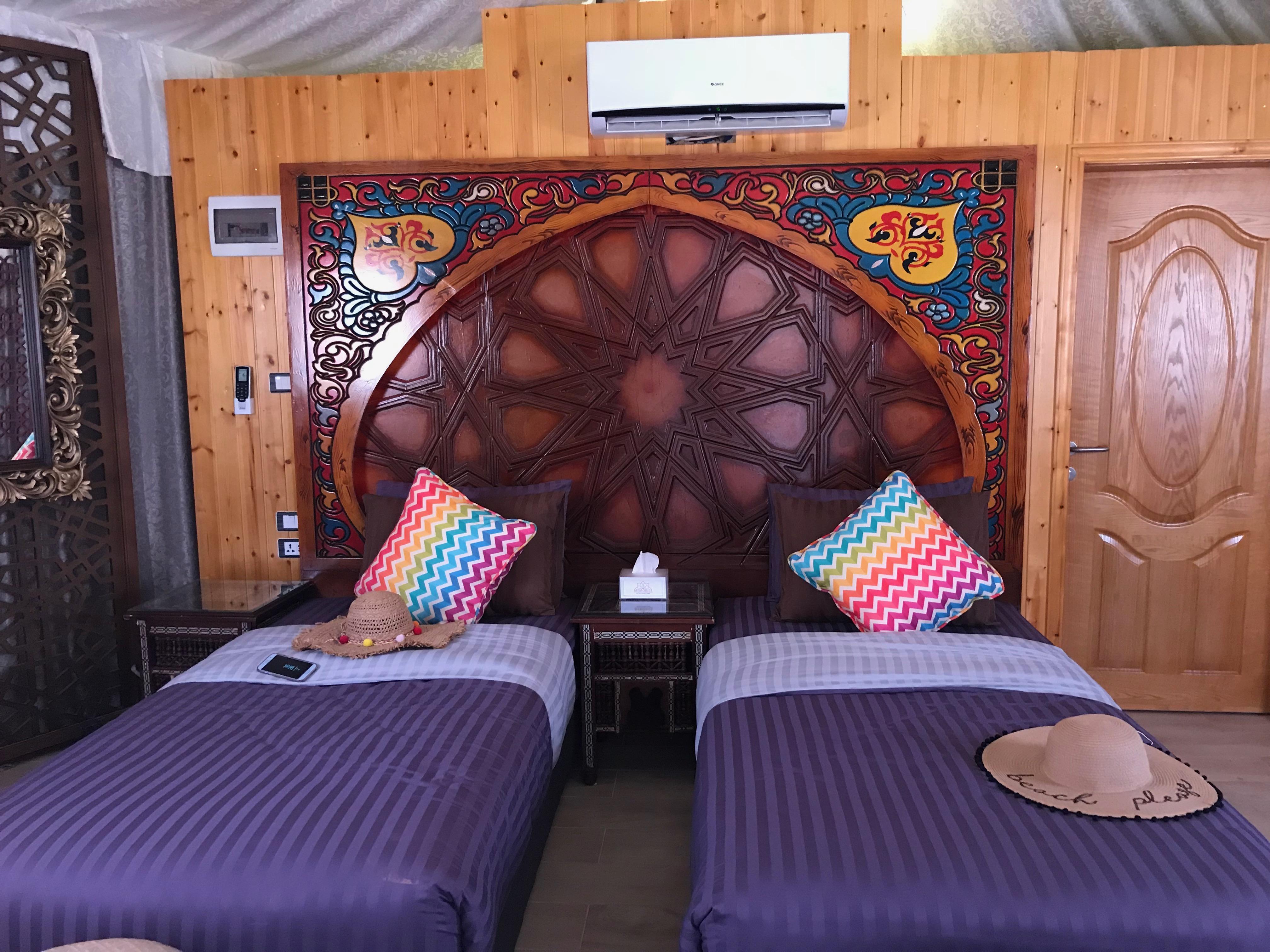 wadi rum - tent