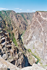 Lower Canyon and Painted Wall, Black Canyon of the Gunnison