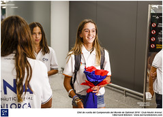 CNA de vuelta del Campeonato del Mundo de Optimist 2018.