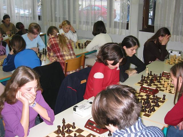 Prvakinje (OŠ Prežihov Voranc Jesenice) med igro