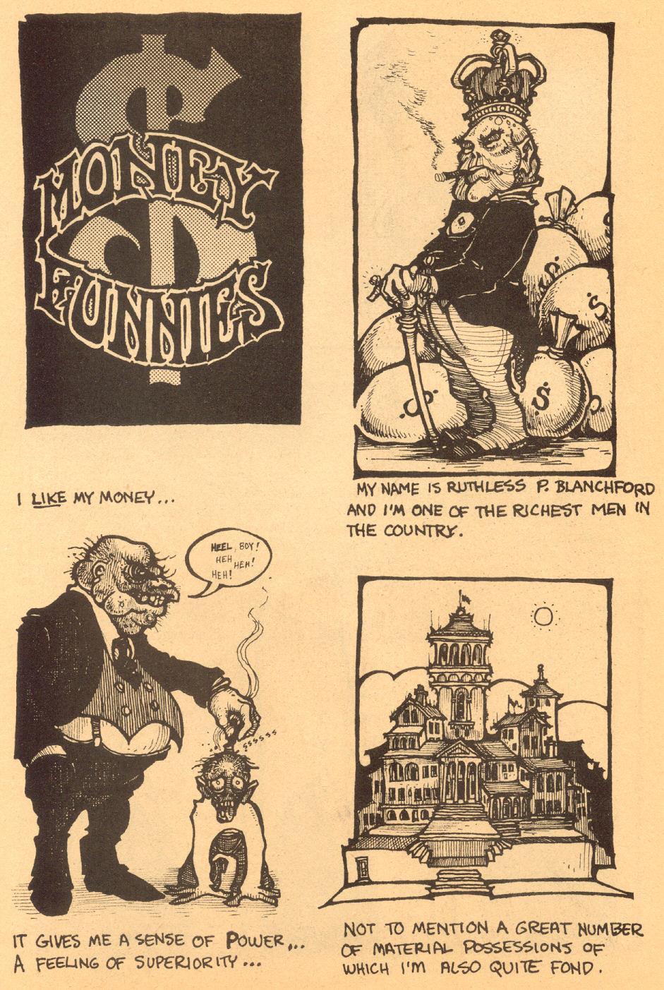 Heavy Tragi-Comics #1 (1970) - Страница 17