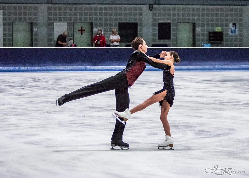 Vasilisa GRIGOREVA / Lev SERGEEV Advanced Novice Blues