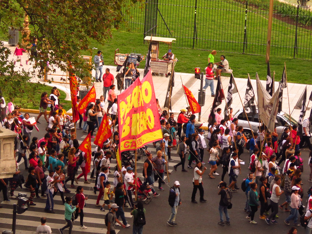 Аргентинские митинги и протесты