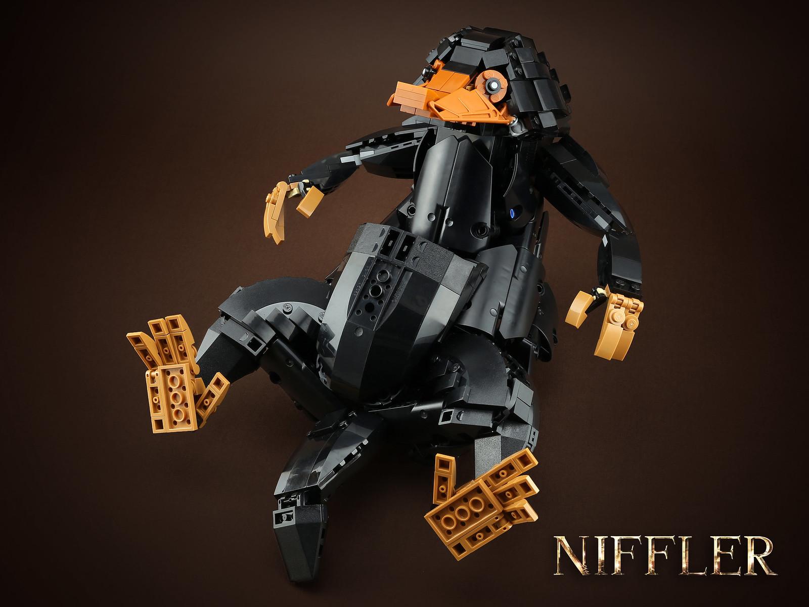 лего саморобка фантастичні звірі ніффлер