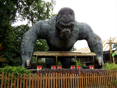 King Kong ride in Bobbejaanland