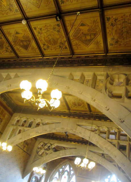 Ceiling in Rochdale Town Hall