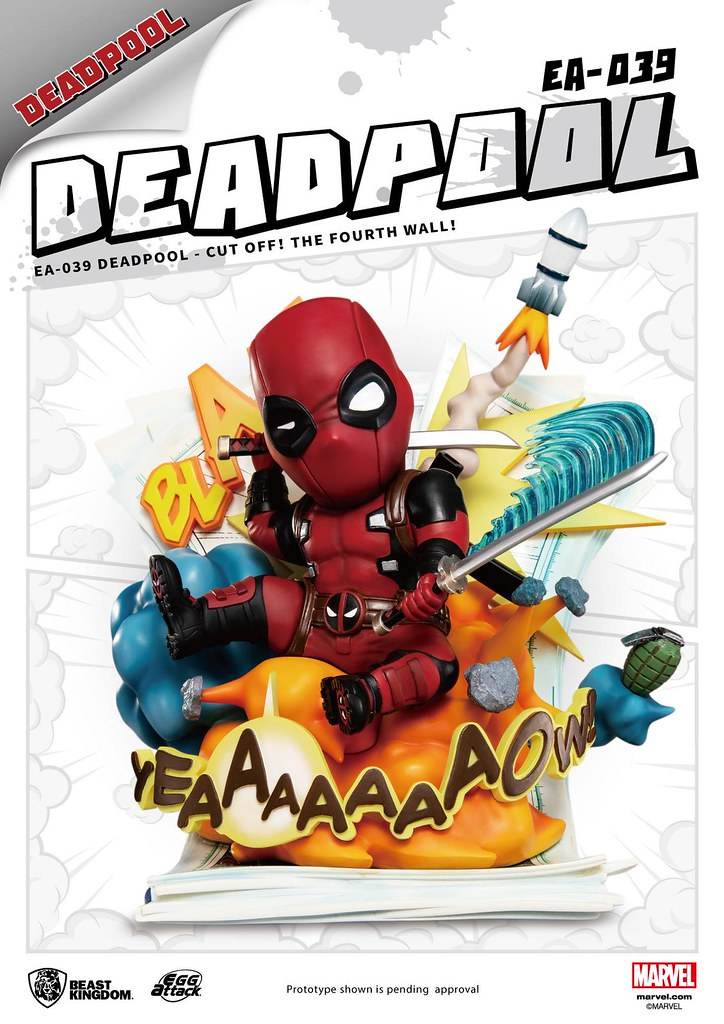 Egg Attack Deadpool - Cut Off! The Fourth Wall