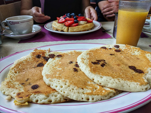 pancakes @ Cutchogue Diner