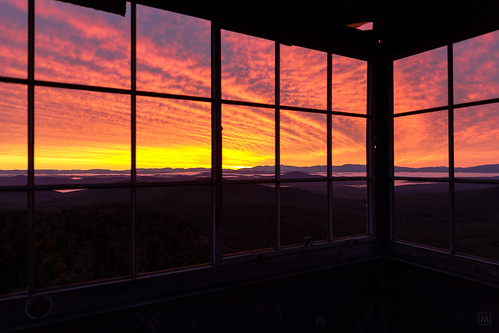 firetower mountwashington sunrise