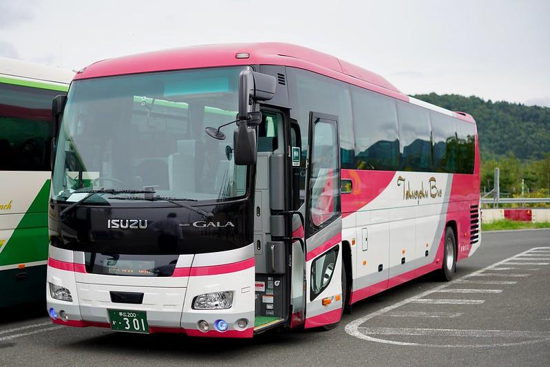 都市間バス「ポテトライナー」(帯広→札幌)