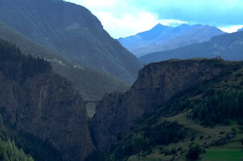 Ubaye river, Alpes de haute provence, France