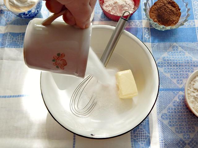 Кекс Зебра, пошаговый фоторецепт | HoroshoGromko.ru