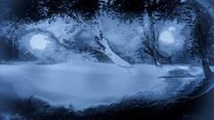 Mon voyage bleu (où la rivière m'amène)