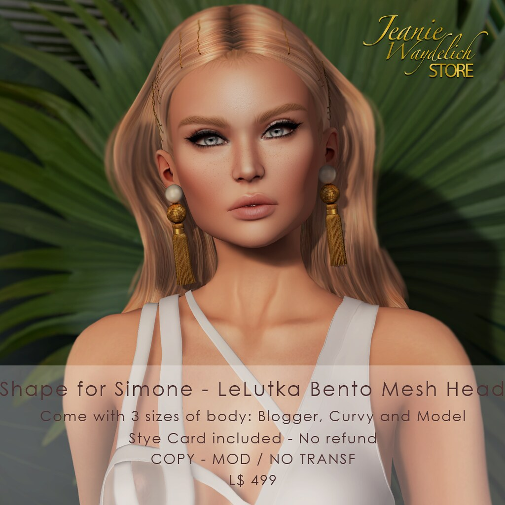 Shape for Simone - LeLutka Bento Head