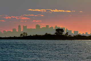 Boston from the Islands by Nyx Breen | by Boston Harbor Islands
