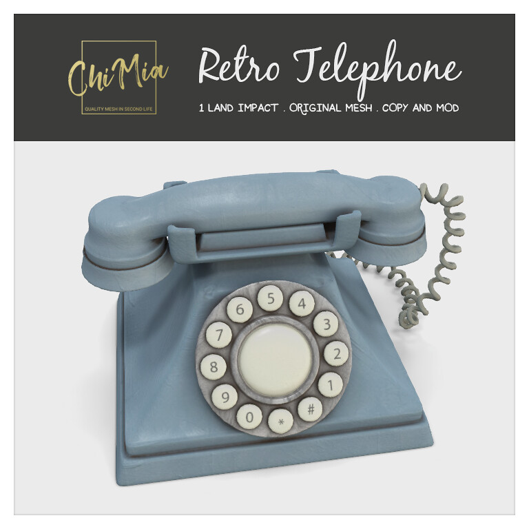 Retro Telephone by ChiMia
