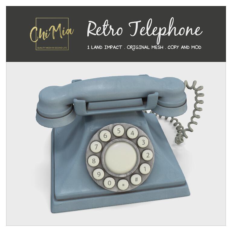 Retro Telephone by ChiMia - TeleportHub.com Live!