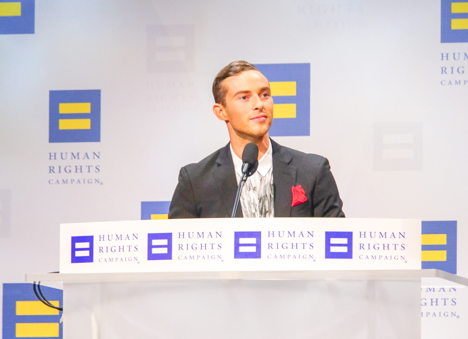 2018.09.15 Human Rights Campaign National Dinner, Washington, DC USA 06186