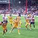 Bees 2-0 Wigan, mass attack