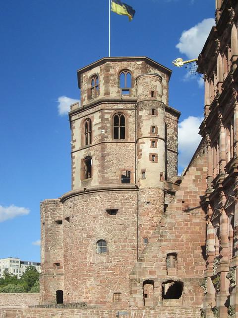 Heidelberger Schloss, Canon POWERSHOT A1400