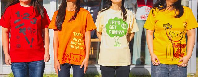 着る栄養!ビタミンカラーTシャツで元気いっぱい!