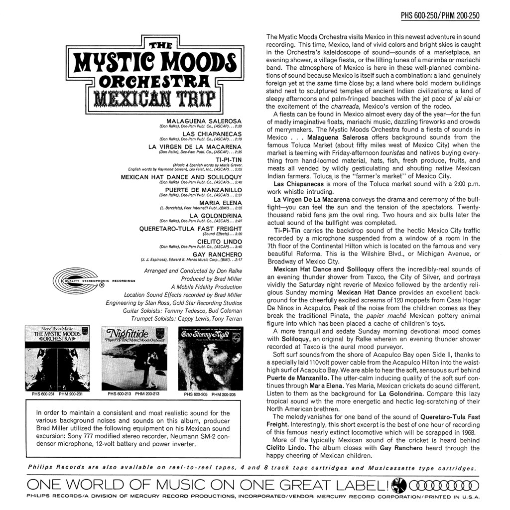 The Mystic Moods Orchestra - Mexican Trip