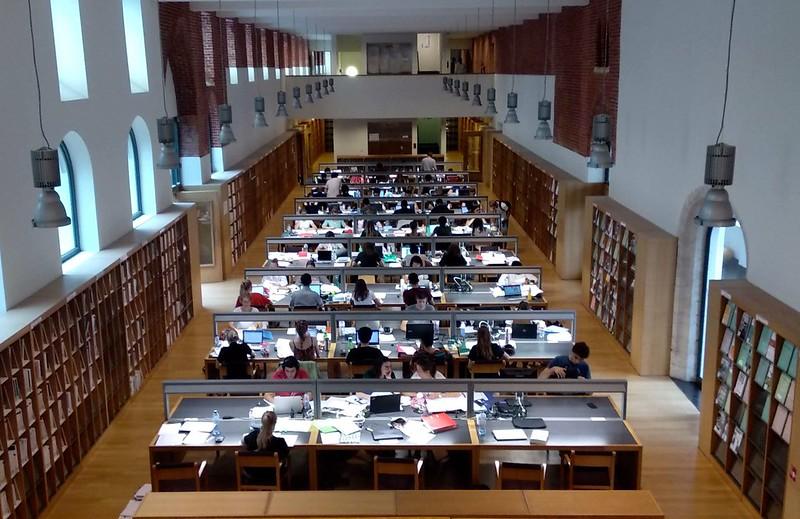 Arenberg  - 43430233404 40d540bfe8 c - Bibliotecas en Lovaina: Arenberg y Gasthuisberg