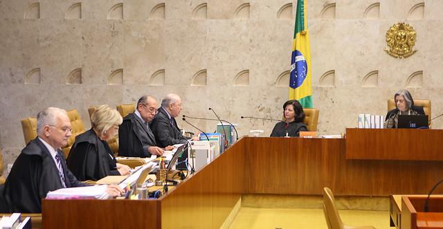 """Os quatro ministros derrotados associavam a terceirização a uma precarização ou """"degradação"""" do trabalho no Brasil - Créditos: Nelson Jr./STF"""