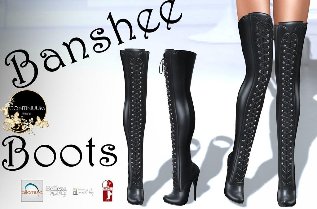 Continuum Banshee Boots - TeleportHub.com Live!