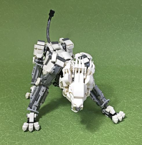 LEGO Mech Lion ver2-07