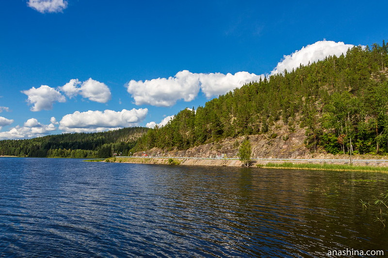 Залив Кирьявалахти, Ладожское озеро