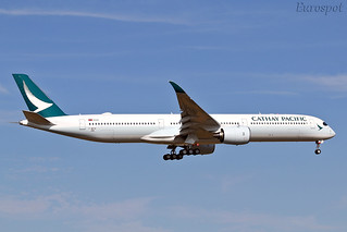 F-WZNI Airbus A350 Cathay Pacific