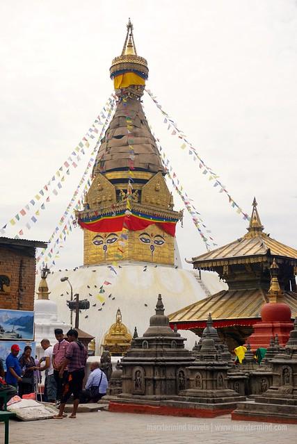 Swayambhunath Stupa Nepal
