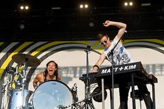 Matt and Kim en Festival Riot Fest 2018