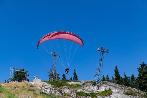 Paragliding Grouse Mountain