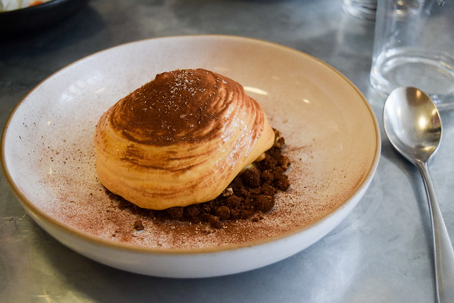 Banoffee, Nutmeg and Caramalised Pecan at Frenchie, Covent Garden