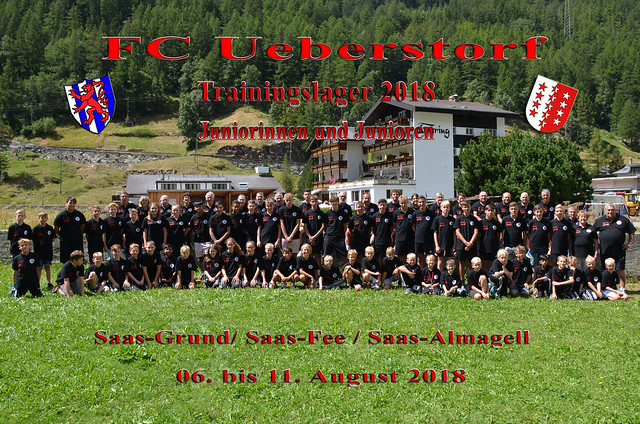 Juniorinnen- und Junioren- Trainingslager 2018