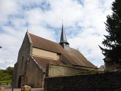 Montgivray, Indre: l'Église Saint Saturnin
