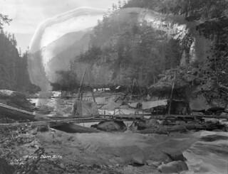 Gorge Dam site, 1919